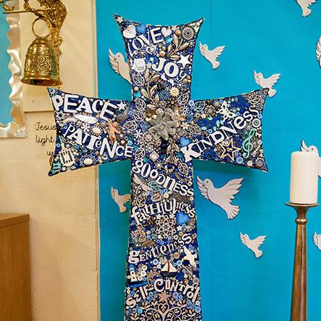 St Andrew's Primary - Faith Display