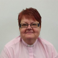 Reverend Rachel Battershell, Governor and Reverend at St Andrew's Church, Dearnley.