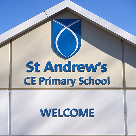 St Andrew's Primary Building Welcome